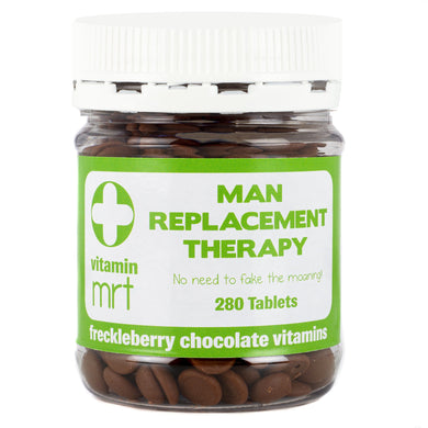 MAN REPLACEMENT THERAPY FRECKLEBERRY CHOCOLATE VITAMINS - JJs Newsagency plus