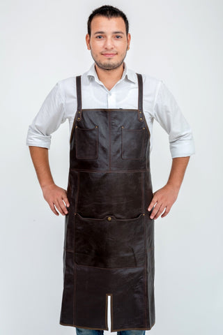 OLIVER LEATHER APRON - JJs Newsagency plus