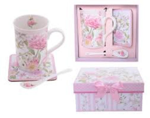PEONY ROSE 3 PIECE SET - Gifts R Us