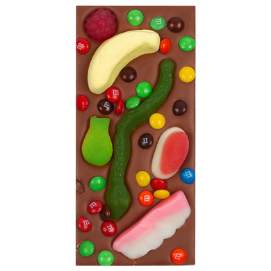 PARTY LOLLIES MILK CHOCOLATE BLOCK - JJs Newsagency plus