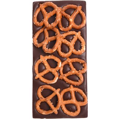 DARK CHOCOLATE PRETZEL FRECKLEBERRY 100G - JJs Newsagency plus