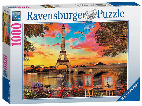 RBURG THE BANKS OF THE SEINE PUZZLE 1000PC - JJs Newsagency plus