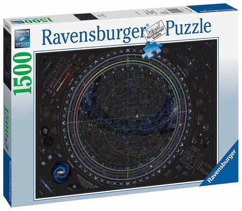 RBURG MAP OF THE UNIVERSE PUZZLE 1500PC - JJs Newsagency plus