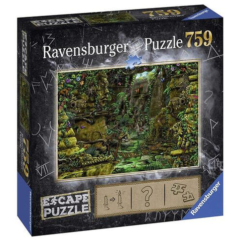 RAVENSBURGER ESCAPE 2 THE TEMPLE GROUNDS PUZZLE/GAME 759PC - Gifts R Us