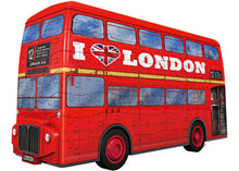 Load image into Gallery viewer, RBURG LONDON BUS 3D MODEL 216PC - JJs Newsagency plus