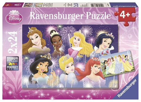 RBURG DISNEY PRINCESSES GATHERING PUZZLE 2X24PCE - Gifts R Us