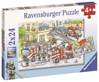 RBURG HEROES IN ACTION PUZZEL 2X24PCE - JJs Newsagency plus