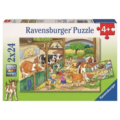 RBURG MERRY COUNTRY LIFE PUZZEL 2X24PC - JJs Newsagency plus