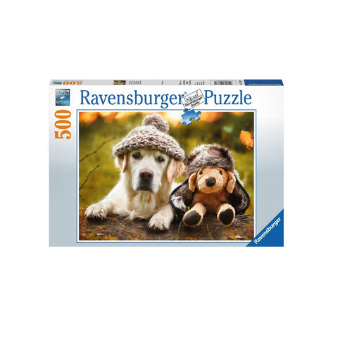 RAVENSBURG WINTER LABRADOR 500PC PUZZLE - Gifts R Us