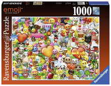 Load image into Gallery viewer, RAVENSBURG EMOJI 1000PC PUZZLE - JJs Newsagency plus