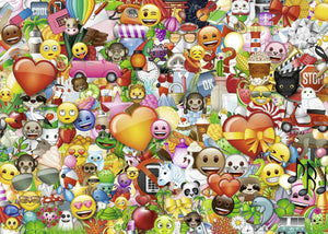 RAVENSBURG EMOJI 1000PC PUZZLE - JJs Newsagency plus