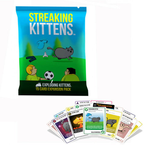 STREAKING KITTENS (EXPLODING KITTENS EXPANSION) - Gifts R Us