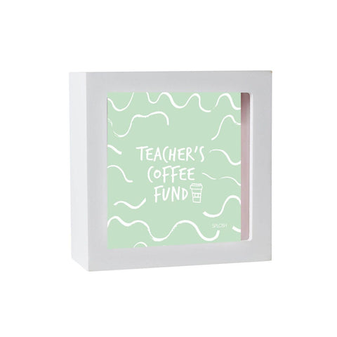 TEACHER COFFEE MINI CHANGE BOX - Gifts R Us