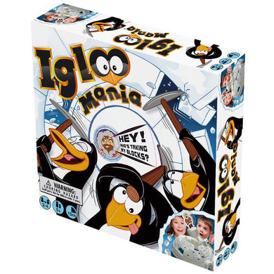 TOY BOARD GAME VR IGLOO MANIA - JJs Newsagency plus