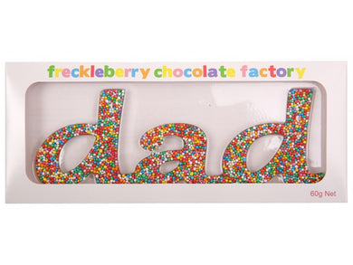 DAD FRECKLEBERRY FRECKLE WORD - JJs Newsagency plus