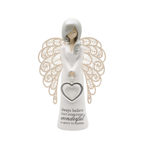 YOU ARE AN ANGEL FIGURINE 155MM ALWAYS BELIEVE - Gifts R Us