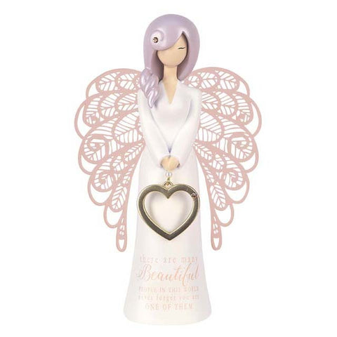 YOU ARE AN ANGEL FIGURINE 155MM YOU ARE BEAUTIFUL - Gifts R Us