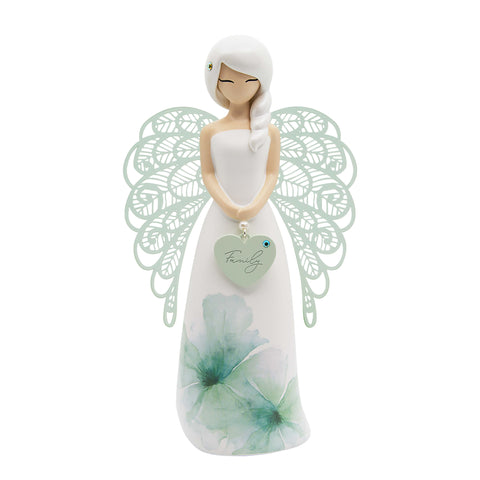 YOUR AN ANGEL FIGURINE 155MM FAMILY (FLORAL) - JJs Newsagency plus