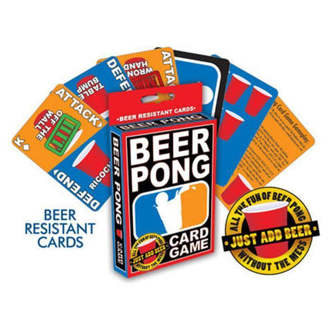 BEER PONG PLAYING CARDS - Gifts R Us