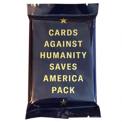 CARDS AGAINST HUMANITY SAVES AMERICA PACK - JJs Newsagency plus