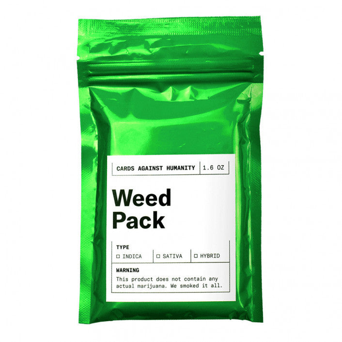 CARDS AGAINST HUMANITY WEED PACK - JJs Newsagency plus