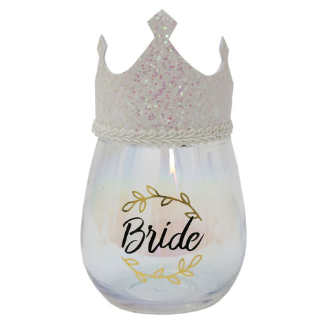 BRIDE CELEBRATION GLASS - JJs Newsagency plus