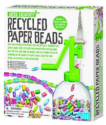 4M - RECYCLED PAPER BEADS - JJs Newsagency plus