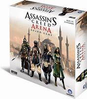 ASSASSINS CREED ARENA BOARD GAME - JJs Newsagency plus