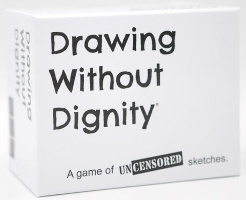 DRAWING WITHOUT DIGNITY BASE GAME - Gifts R Us