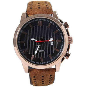 48MM BROWN DRESDEN MEN'S WATCH - JJs Newsagency plus