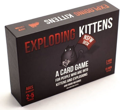 EXPLODING KITTENS NSFW EDITION - JJs Newsagency plus