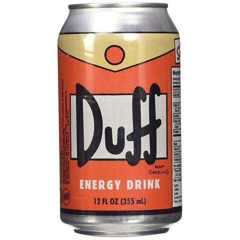 DUFF ENERGY DRINK - JJs Newsagency plus