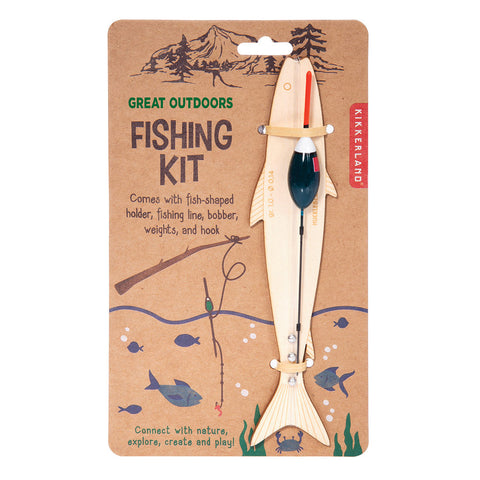 KIKKERLAND GREAT OUTDOORS FISHING KIT - Gifts R Us