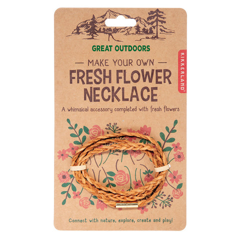 KIKKERLAND GREAT OUTDOOR FRESH FLOWER NECKLACE - Gifts R Us