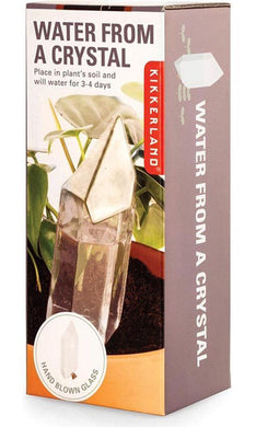 CRYSTAL GLASS PLANT FEEDER - JJs Newsagency plus