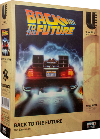 IMPACT PUZZLE BACK TO THE FUTURE THE DELOREAN 1000 PC - JJs Newsagency plus