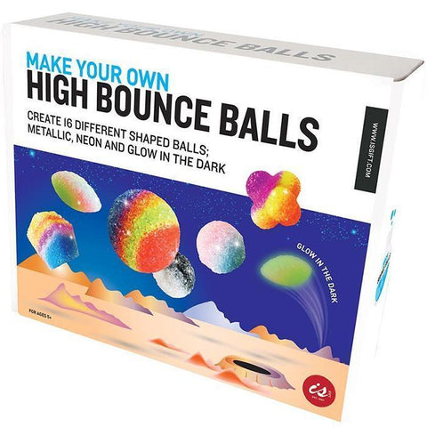 MAKE YOUR OWN HIGH BOUNCE BALL BOX SET - JJs Newsagency plus