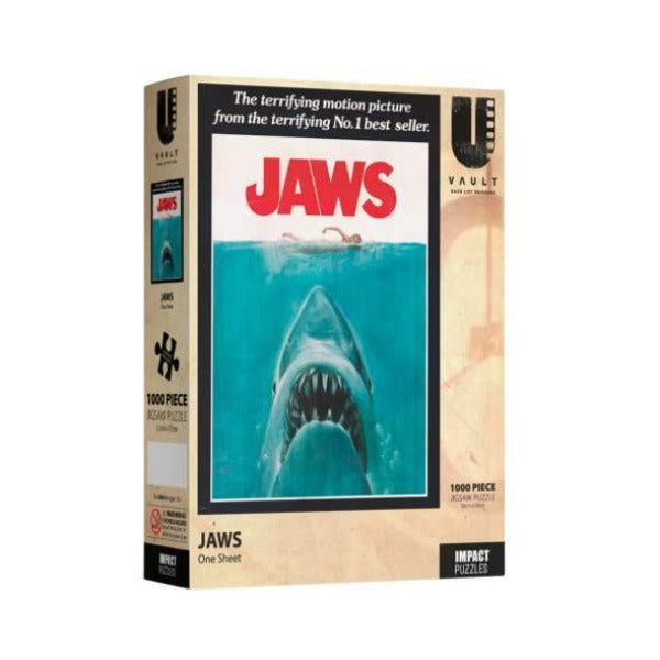 IMPACT PUZZLE JAWS PUZZLE 1000 PC - JJs Newsagency plus