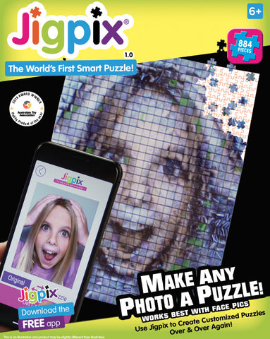 JIGPIX PUZZLE (884 PIECES) - Gifts R Us