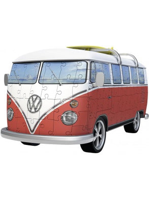 RBURG VW KOMBI BUS 3D MODEL 162PC - JJs Newsagency plus