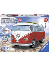 Load image into Gallery viewer, RBURG VW KOMBI BUS 3D MODEL 162PC - JJs Newsagency plus