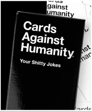 CARDS AGAINST HUMANITY YOUR SHITTY JOKES - JJs Newsagency plus