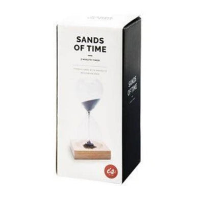SANDS OF TIME MAGNETIC HOURGLASS - JJs Newsagency plus