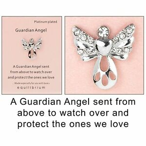EQLB GRD ANGEL PIN FROM ABOVE - Gifts R Us