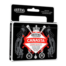 Load image into Gallery viewer, CANASTA PLAYING CARDS QUEENS SLIPPER - JJs Newsagency plus