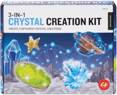 3 IN 1 CRYSTAL CREATION KIT - JJs Newsagency plus