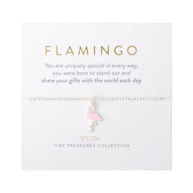 TINY TREASURES FLAMINGO - JJs Newsagency plus
