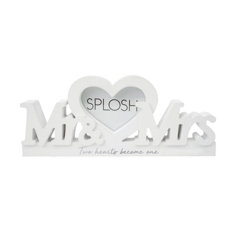WEDDING MR & MRS FRAME WORD - Gifts R Us