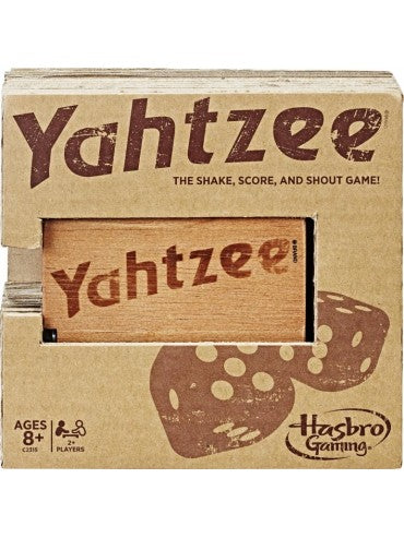 YAHTZEE RUSTIC - JJs Newsagency plus