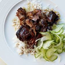 Braised 5-Spice Pork with Plums